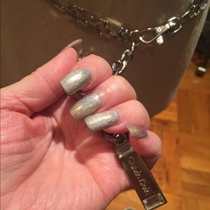 Calvin Klein Accessories - 2 fabulous Chain bells , silver mirror , gunmetal